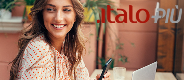 Italo Più: sign up to for free to our Loyalty Program